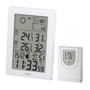 HAMA EWS-3200 Weather Station, white 136258