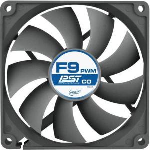 Arctic VENTILATOR PC 92x92x25 mm, F9 PWM PST, w/ PWM & cablu PST, low noise FD bearing AFACO-090P0-GBA01