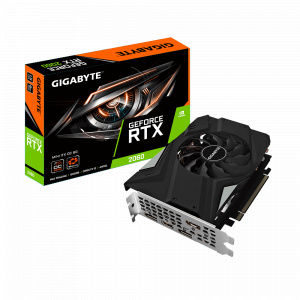 Gigabyte GeForce RTX 2060 MINI ITX OC 6GB GDDR6 192 biti (N2060IXOC-6GD)