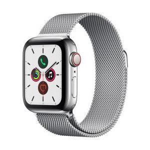 Apple Watch 5 40mm Stainless Steel Milanese Loop