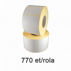 ZINTA Role etichete termice 90x50mm, 770 et./rola - 90X50X770-TH