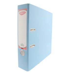Daco Biblioraft plastifiat 75 mm, albastru deschis BP175B