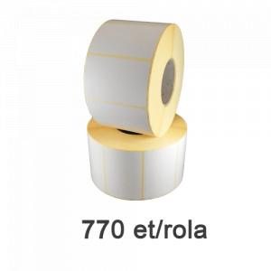 ZINTA Role etichete semilucioase 90x50mm, 770 et./rola  - 90X50X770-SGP