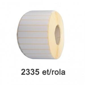 ZINTA Role etichete semilucioase 100x15mm, 2335 et./rola - 100X15X2335-SGP