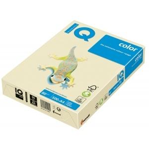 Mondi Hartie IQ Color Pastel A4 vanilla, 80 g/mp, 500 coli/top IQCOL480/BE66