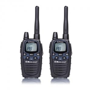 Midland Statie radio PMR/LPD portabila G7 PRO  2015 set cu 2bc Cod C1090