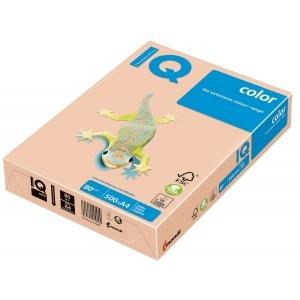 Mondi Hartie IQ Color Pastel A4 salmon, 80 g/mp, 500 coli/top IQCOL480/SA24