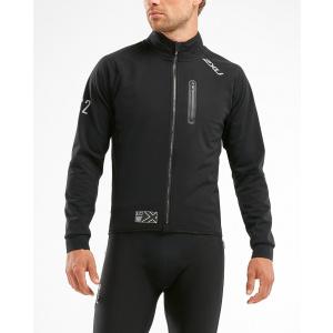 2XU X:C2 Winter Cycle Jacket - negru-reflectorizant MC5422a-blk-ref