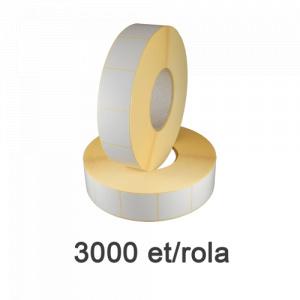 ZINTA Role etichete termice 40x46mm, 3000 et./rola - 40X46X3000-TH