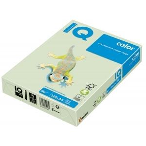 Mondi Hartie IQ Color Pastel A3 green, 80 g/mp, 500 coli/top IQCOL380/GN27