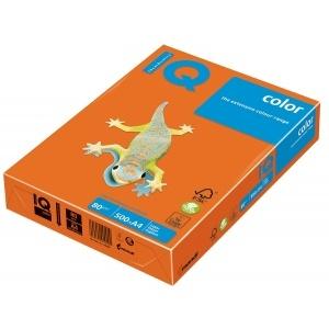 Mondi Hartie IQ Color Pastel A3 orange, 80 g/mp, 500 coli/top IQCOL380/OR43