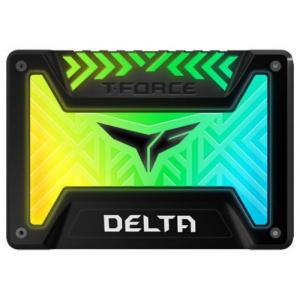 TeamGroup T-Force Delta, 500GB, SATA III, 2.5inch,  RGB (Negru) T253TR500G3C313