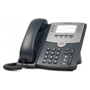 Cisco 8-Line IP Phone with 2-Port Switch, PoE and Paper Label SPA501G