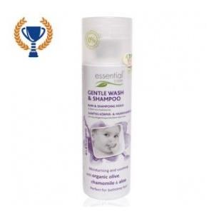 Essential Care Sampon si gel de dus pentru bebelusi 200 ml