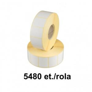 ZINTA Role etichete termice 35x25mm, 5480 et./rola - 35X25X5480-TH
