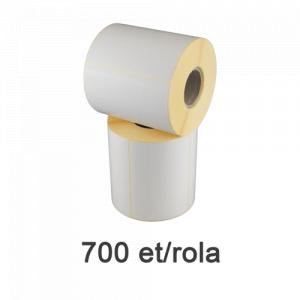 ZINTA Role etichete semilucioase 105x74mm, 700 et./rola - 105X74X700-SGP