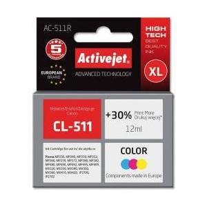ActiveJet Cartus  ac-cl-511 Canon cl511 12ml Color