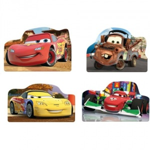 Dino Toys Puzzle 4 in 1 - Cars (54 piese)