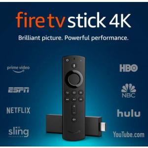 Amazon Fire TV stick control Alexa, Ultra HD 4K (Negru)