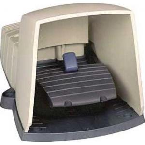 Schneider Electric XPEG510 : Intreruptor Pedala Simplu - Ip66 - Cu Capac - Plastic - Gri - 1Ni + 1Nd