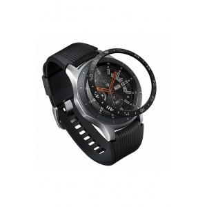 Ringke Rama ornamentala inox Galaxy Watch 46mm / Galaxy Gear S3 Negru