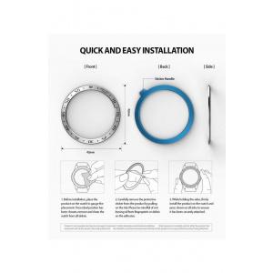 Ringke Rama ornamentala inox Galaxy Watch 42 mm Argintiu