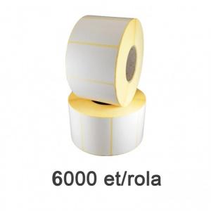 ZINTA Role etichete semilucioase 38x25mm, 6000 et./rola - 38X25X6000-SGP