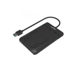 Unitek Rack Extern HDD/SSD  USB 3.1, SATA, 2.5inch, Black