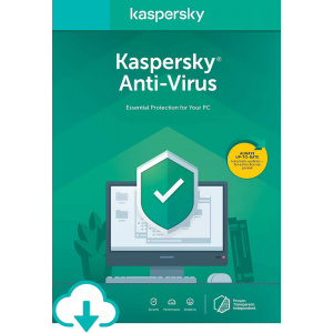 Kaspersky Antivirus 2020, 2 Dispozitive, 1 An, Licenta de reinnoire, Electronica