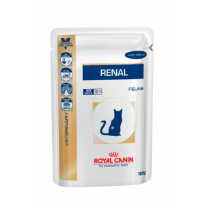 Royal Canin Feline Renal with Chicken Wet - plic 12 x 85 g