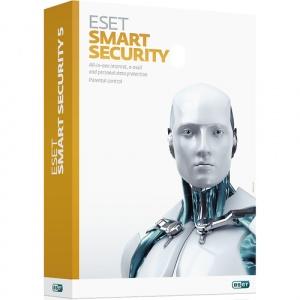 Eset Smart Security, 3 Calculatoare, 1 An, Licenta Reinnoire Electronica