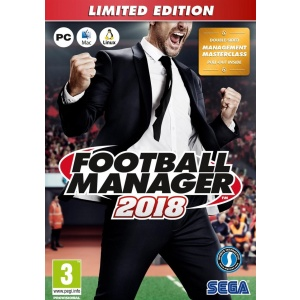 SEGA Football Manager 2018 Limited Edition - PC