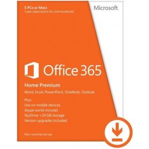 Microsoft Office 365 Home Premium 32/64-bit Multi-Language (licenta ESD) 6GQ-00092