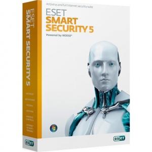 Eset Smart Security , 5 Calculatoare, 1 An, Licenta Reinnoire Electronica