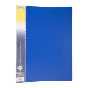 DP Collection Mapa PVC A4+ cu 30 folii, coperta albastru inchis DPC-18-5825