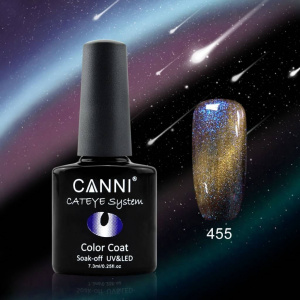CANNI OJA Semipermanenta SOAK OFF CAMELEON CAT EYES 455