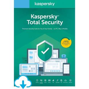 Kaspersky Total Security 2020, 5 Dispozitive, 2 Ani, Licenta de reinnoire, Electronica