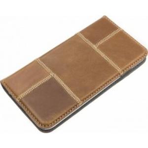Tellur Book Magnetica pentru  iPhone 6 6S Patch Maro tll119033t