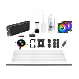 Thermaltake Pacific C240 DDC Hard Tube Water Cooling Kit CL-W242-CU12SW-A