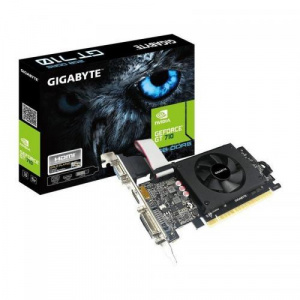 Gigabyte GeForce GT 710 2GB, GDDR5, 64bit (N710D5-2GIL)