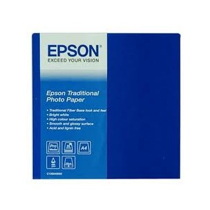 Epson Traditional  Photo Paper 210x297mm  (C13S045050)