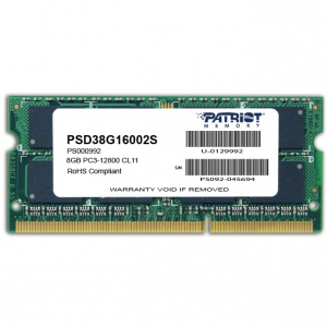 Patriot Memory Signature 8GB DDR3 1600MHz CL11 (PSD38G16002S)
