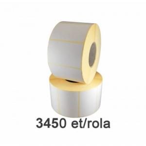 ZINTA Role etichete semilucioase 70x40mm, 3450 et./rola - 70X40X3450-SGP