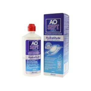 Alcon AoSept Plus with HydraGlyde (360 ml)