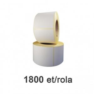 ZINTA Role etichete semilucioase 77x92mm, 1800 et./rola  - 77X92X1800-SGP