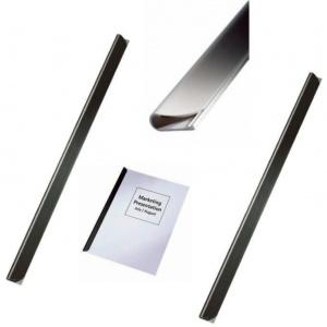 Leitz Bagheta A4 de legat documente 6 mm, 50/cutie - negru 21781