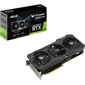Asus GeForce RTX 3080 TUF GAMING OC Edition 10GB GDDR6X 320-bit  (TUF-RTX3080-O10G-GAMING)