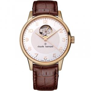 Claude Bernard Classic Automatic Open Heart 85017 37R ABR