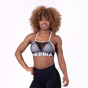 NEBBIA Sutien Sport Mesh Sport White