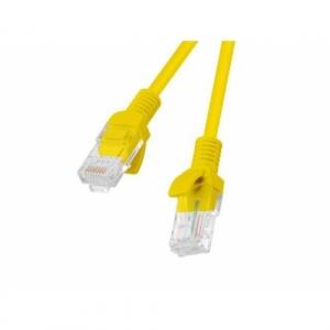 Lanberg Patchcord RJ45 cat. 5e UTP 0.5m yellow PCU5-10CC-0050-Y